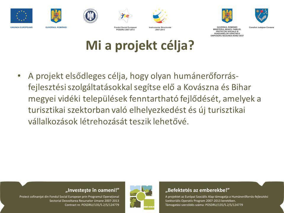 Mi a projekt célja.