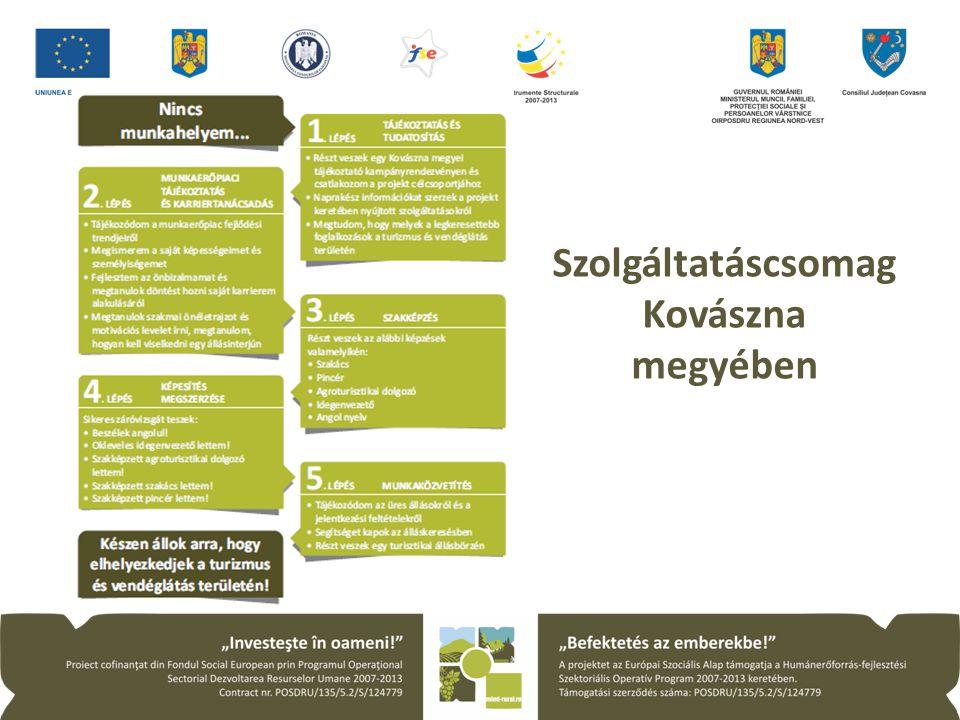 Szolgáltatáscsomag Kovászna megyében