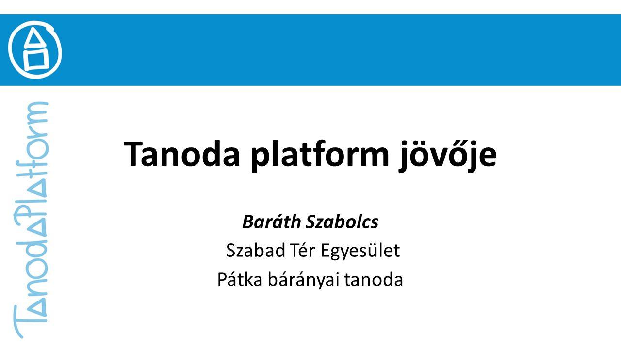 Tanoda platform jövője Baráth Szabolcs Szabad Tér Egyesület Pátka bárányai tanoda