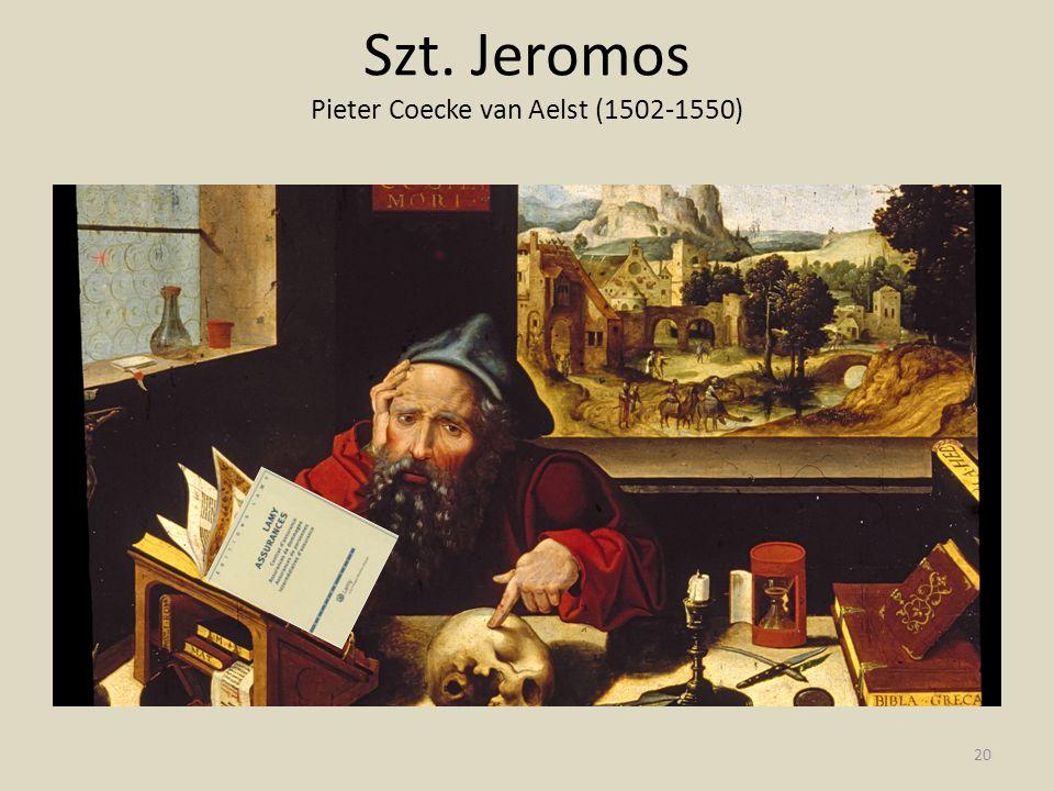 Szt. Jeromos Pieter Coecke van Aelst (1502-1550) 20