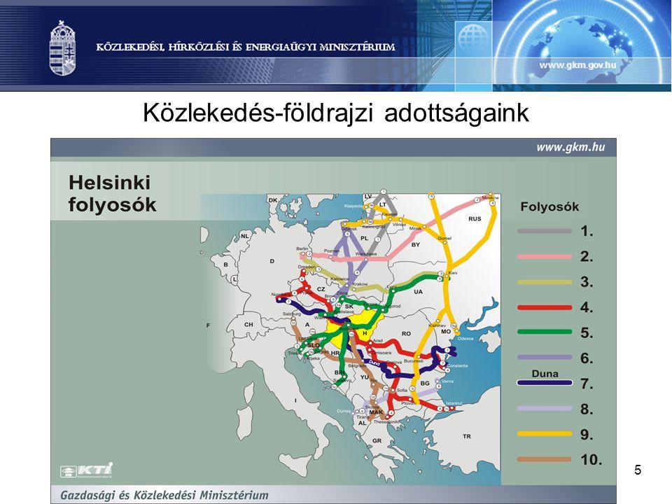 5 Közlekedés-földrajzi adottságaink