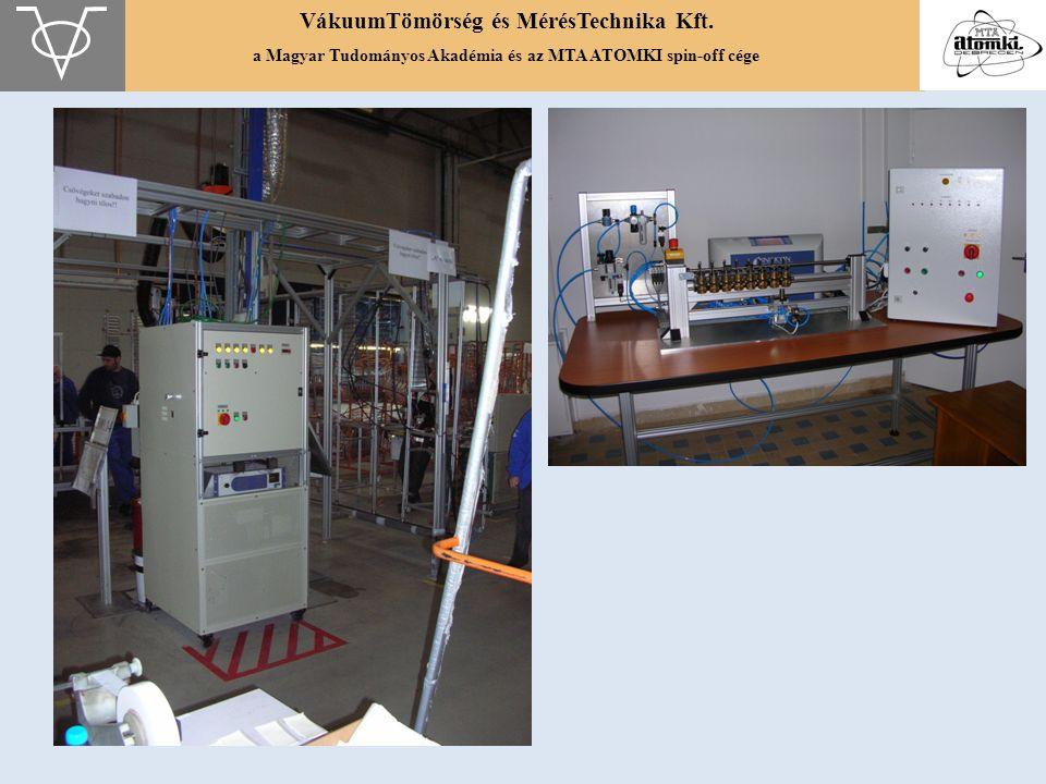 VákuumTömörség és MérésTechnika Kft. a Magyar Tudományos Akadémia és az MTA ATOMKI spin-off cége