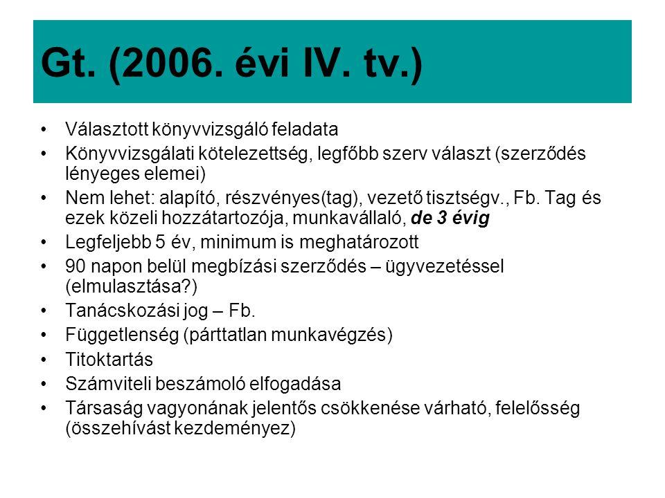 Gt.(2006. évi IV.
