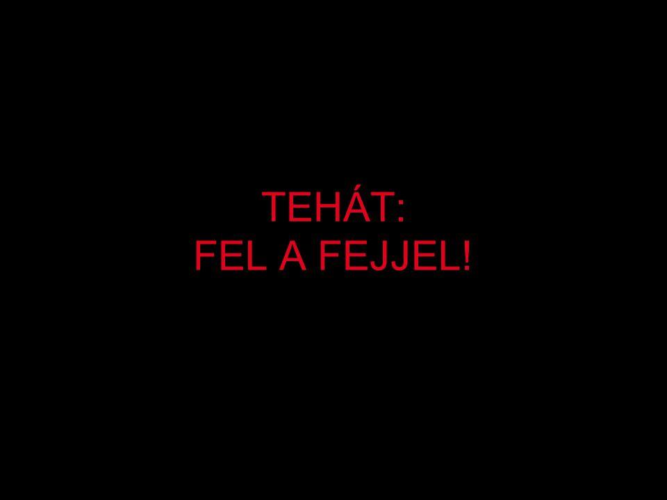 TEHÁT: FEL A FEJJEL!