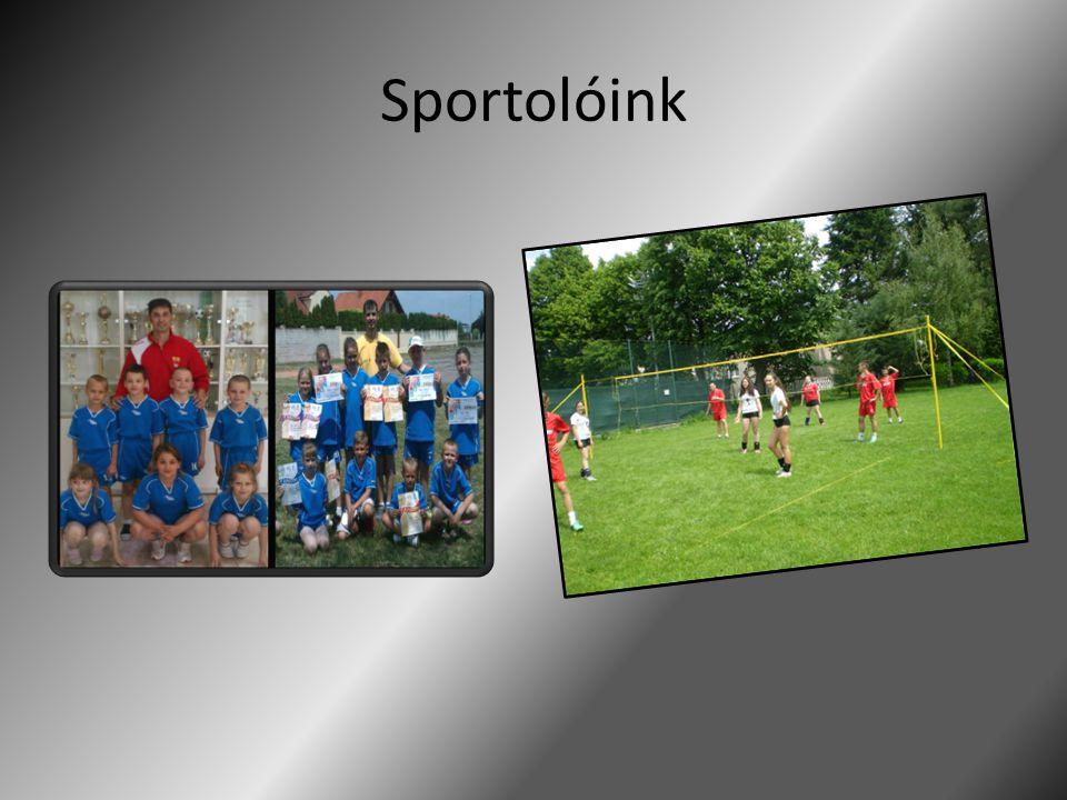 Sportolóink