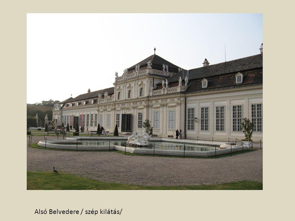 Alsó Belvedere / szép kilátás/
