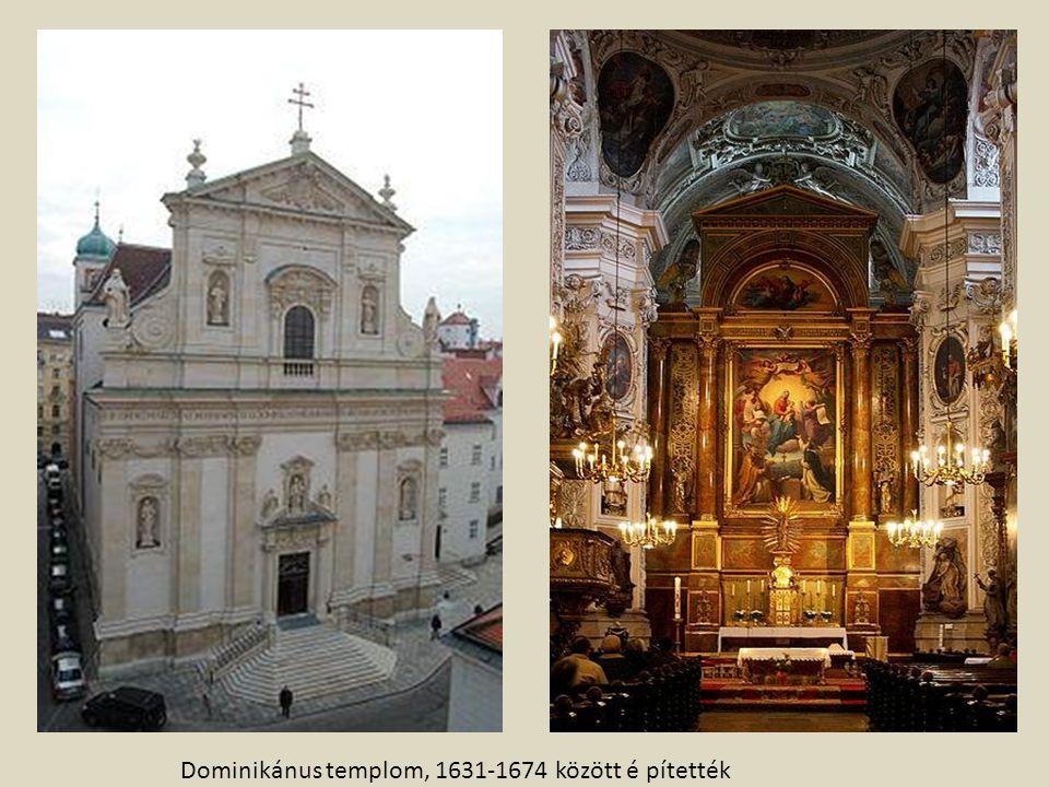 Dominikánus templom, 1631-1674 között é pítették