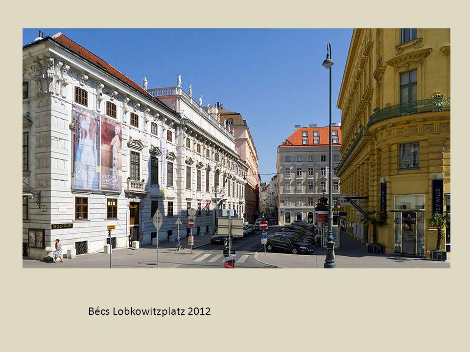 Freyung Bécs központjában Kunsthistorisches Museum