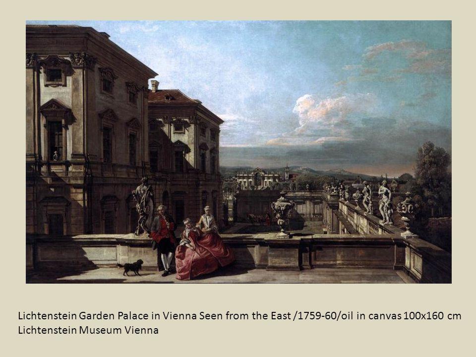 Schönbrunn A kastély kerti homlokzata Kunsthistorisches Museum
