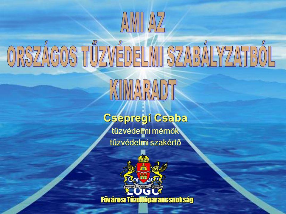 Company LOGO Csepregi Csaba tűzvédelmi mérnök tűzvédelmi szakértő Fővárosi Tűzoltóparancsnokság