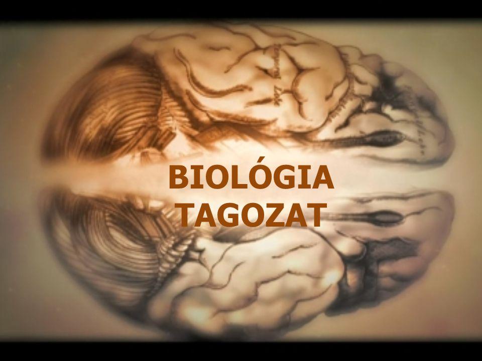 BIOLÓGIA TAGOZAT