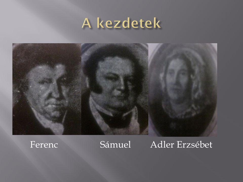 Ferenc Sámuel Adler Erzsébet
