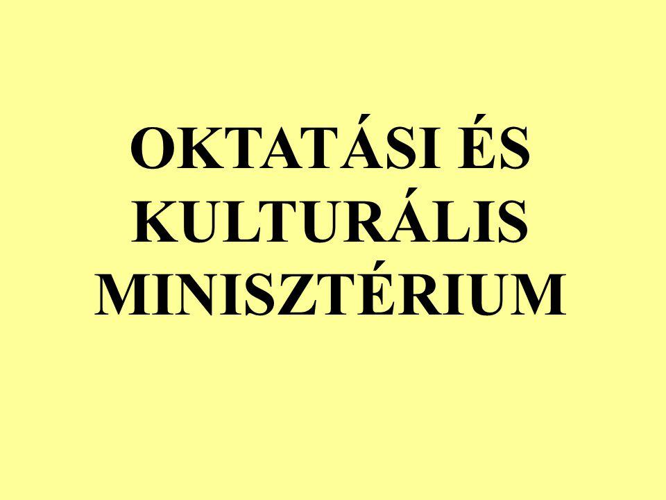 OKTATÁSI ÉS KULTURÁLIS MINISZTÉRIUM