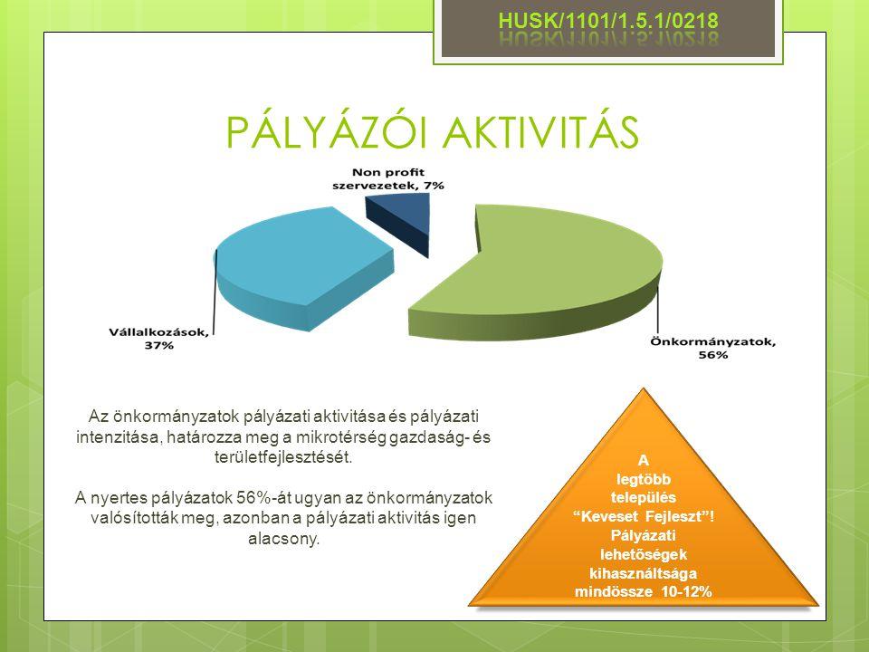 """PÁLYÁZÓI AKTIVITÁS A legtöbb település """"Keveset Fejleszt""""! Pályázati lehetőségek kihasználtsága mindössze 10-12% Az önkormányzatok pályázati aktivitás"""