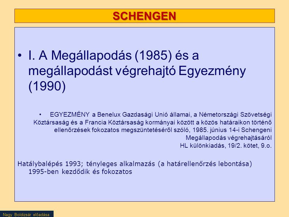 Nagy Boldizsár előadása A MIGRÁCIÓVAL ÉS A MOBILITÁSSAL KAPCSOLATOS ÁLTALÁNOS MEGKÖZELÍTÉS, 2011 (COM) 743 végleges), 2011.