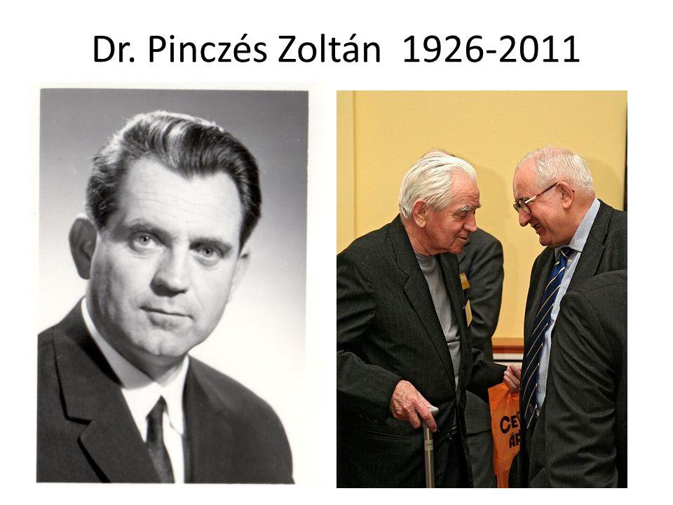 Dr. Pinczés Zoltán 1926-2011