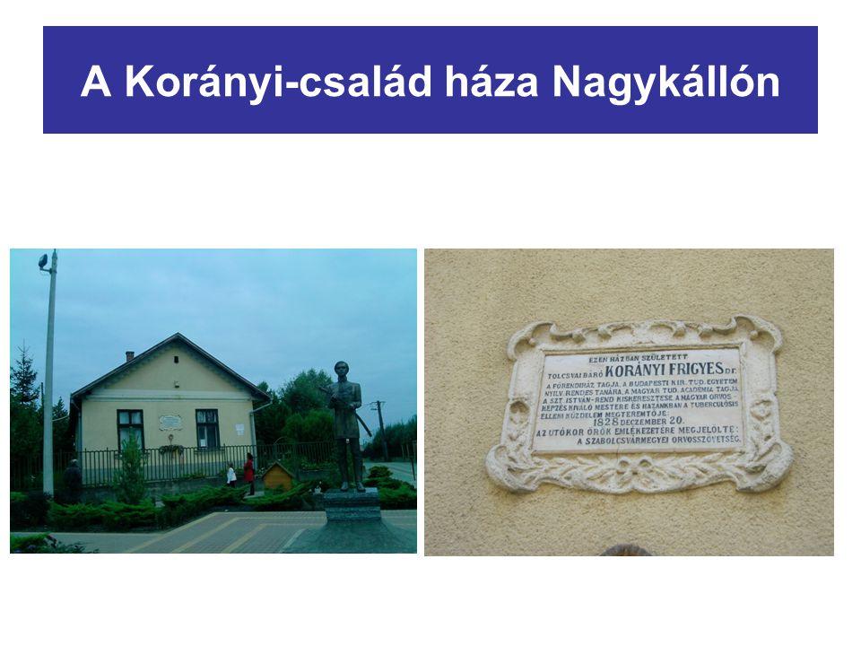A Korányi-család háza Nagykállón