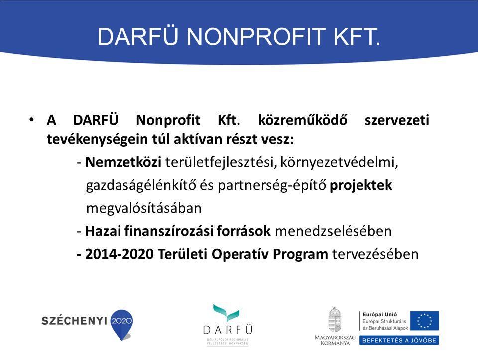 A DARFÜ Nonprofit Kft.