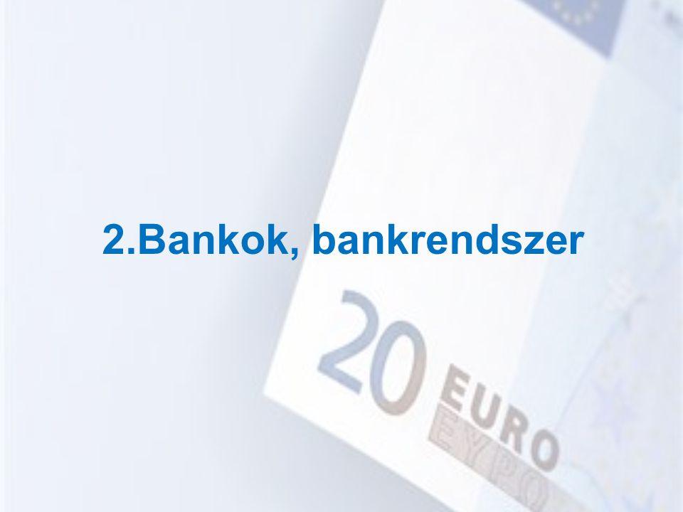 2.Bankok, bankrendszer