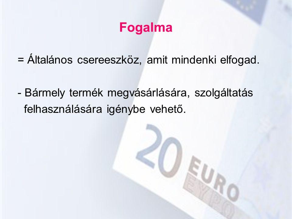 Konvertibilitás = Egyik valuta másikra való átválthatósága állami korlátozás nélkül.