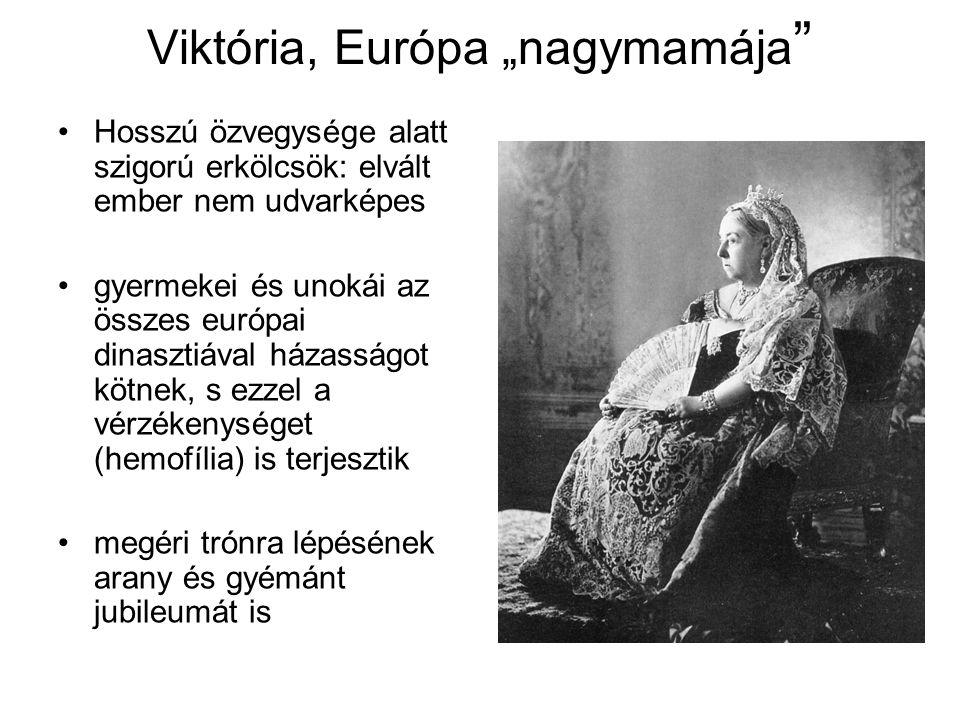 """Viktória, Európa """"nagymamája """" Hosszú özvegysége alatt szigorú erkölcsök: elvált ember nem udvarképes gyermekei és unokái az összes európai dinasztiáv"""