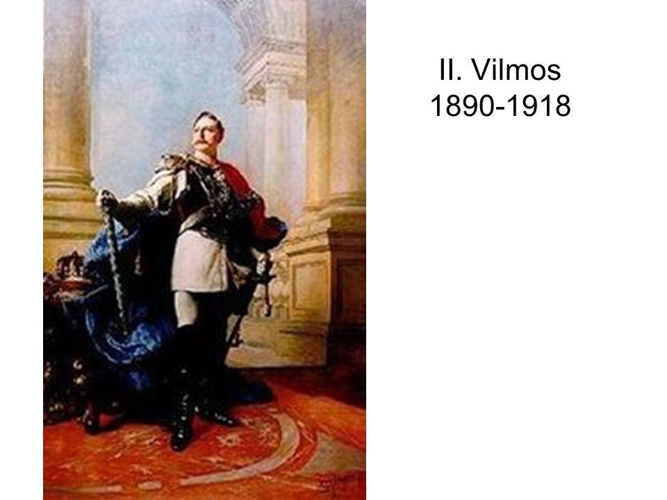 II. Vilmos 1890-1918