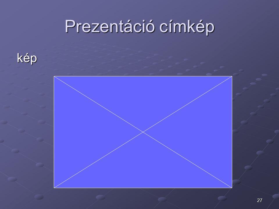 27 Prezentáció címkép kép