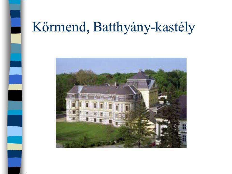 Körmend, Batthyány-kastély