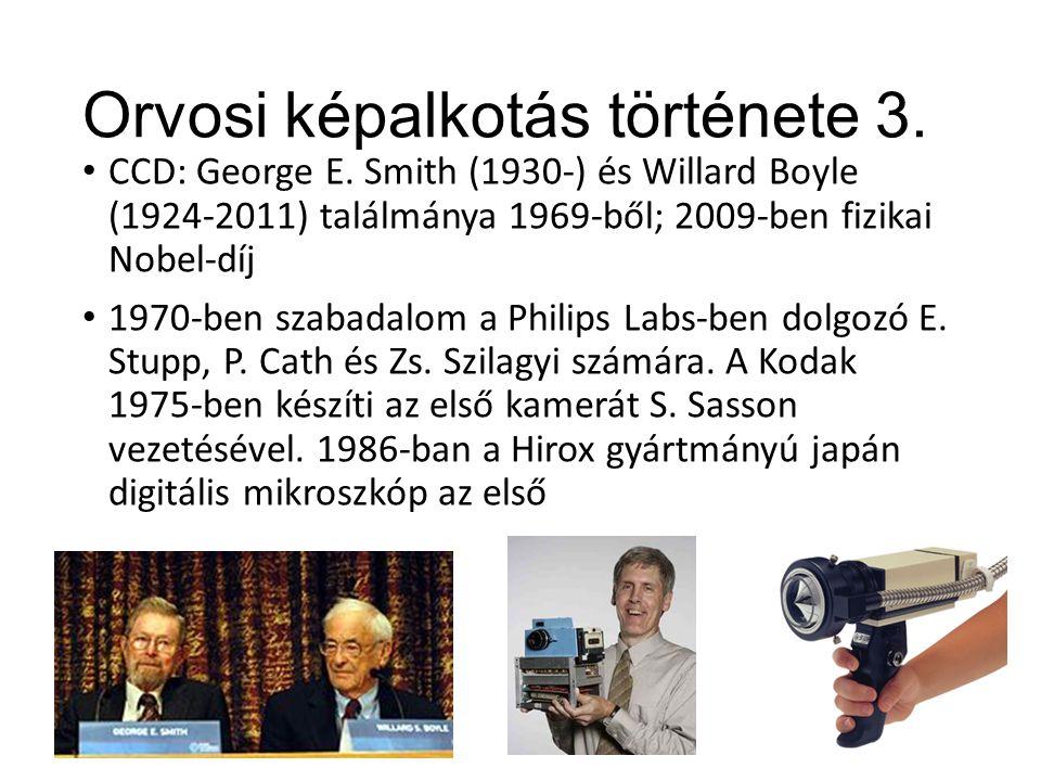 Orvosi képalkotás története 3.CCD: George E.