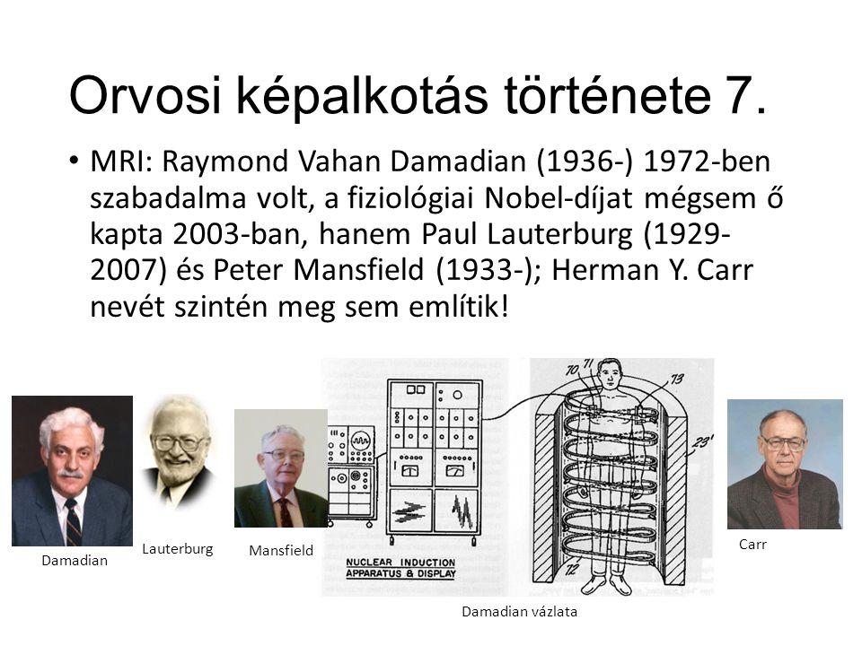 Orvosi képalkotás története 7.