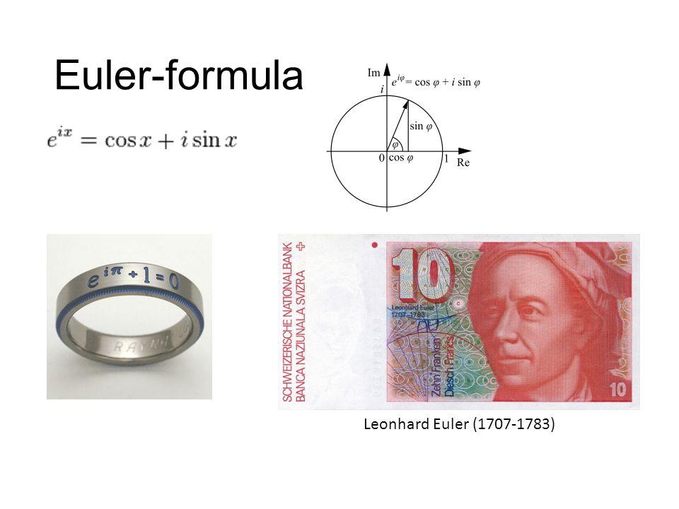 Euler-formula Leonhard Euler (1707-1783)