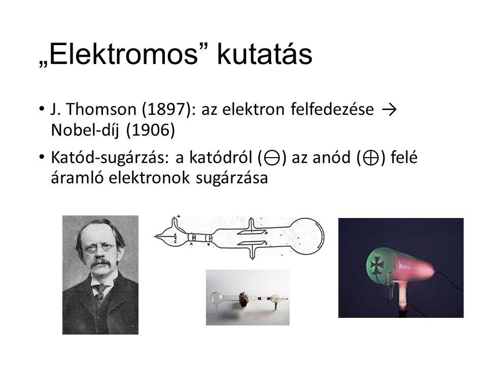 """""""Elektromos kutatás J."""