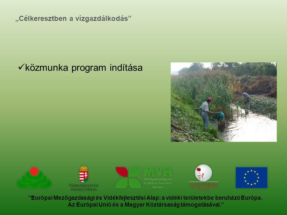 Európai Mezőgazdasági és Vidékfejlesztési Alap: a vidéki területekbe beruházó Európa.