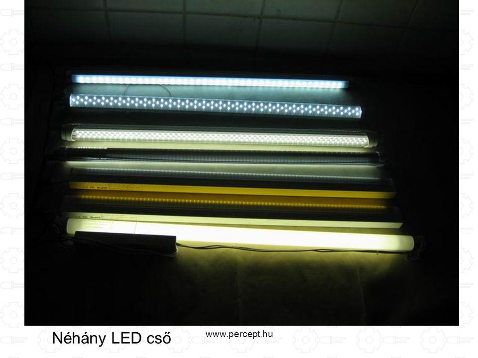 www.percept.hu Néhány LED cső