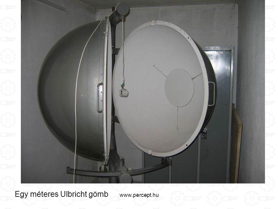 www.percept.hu Egy méteres Ulbricht gömb