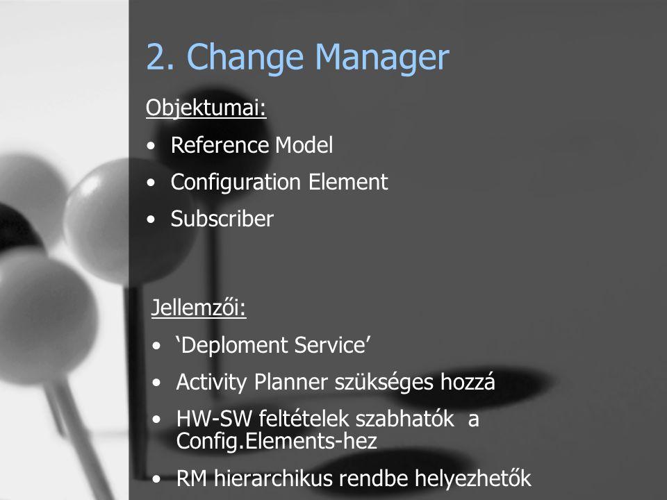 3. Directory Query 4. Web Gateway 5. Pristine Manager 6. Resource Manager Következő alkalommal 