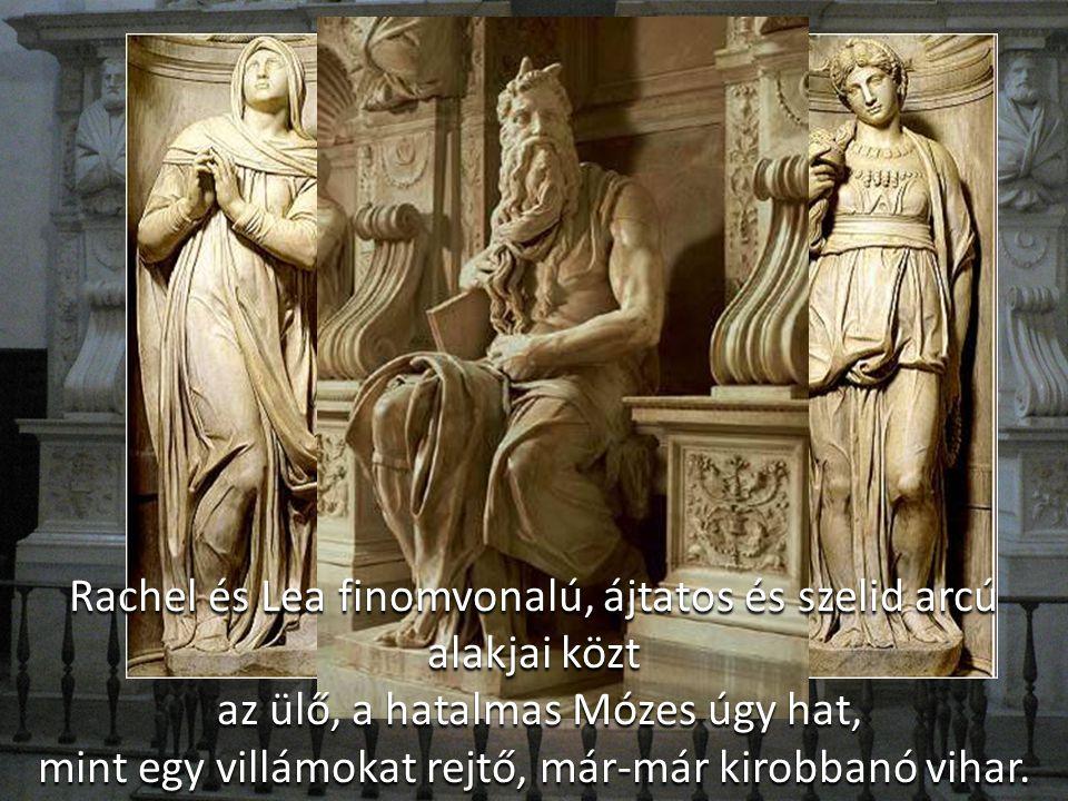A síremlék keretét Giovanni de' Marchesi és Francesco d' Urbino márványfaragók készítették. A családi címer Benti alkotása. A Madonna, a Sybilla és a
