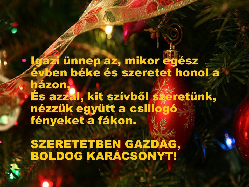 De ez előtt még jön valami. Közeledik a karácsony és újra, mindig újra, csendesen közeledik hozzánk valaki.