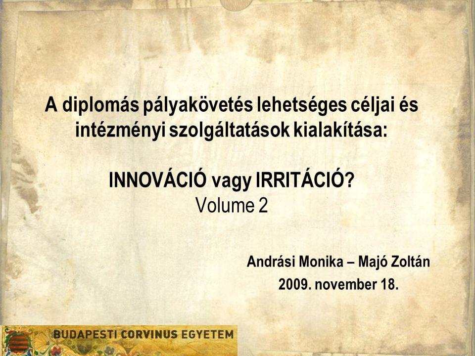 Karrier Iroda Andrási Monika - Majó Zoltán 2009.november 18.