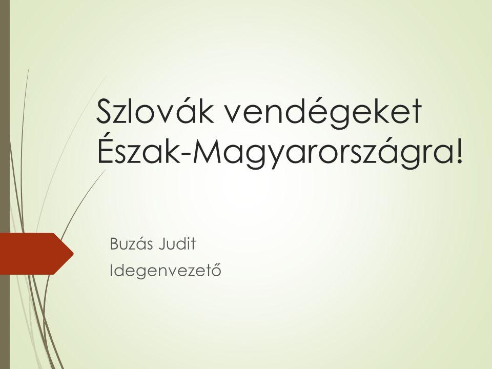 Szlovák vendégeket Észak-Magyarországra! Buzás Judit Idegenvezető