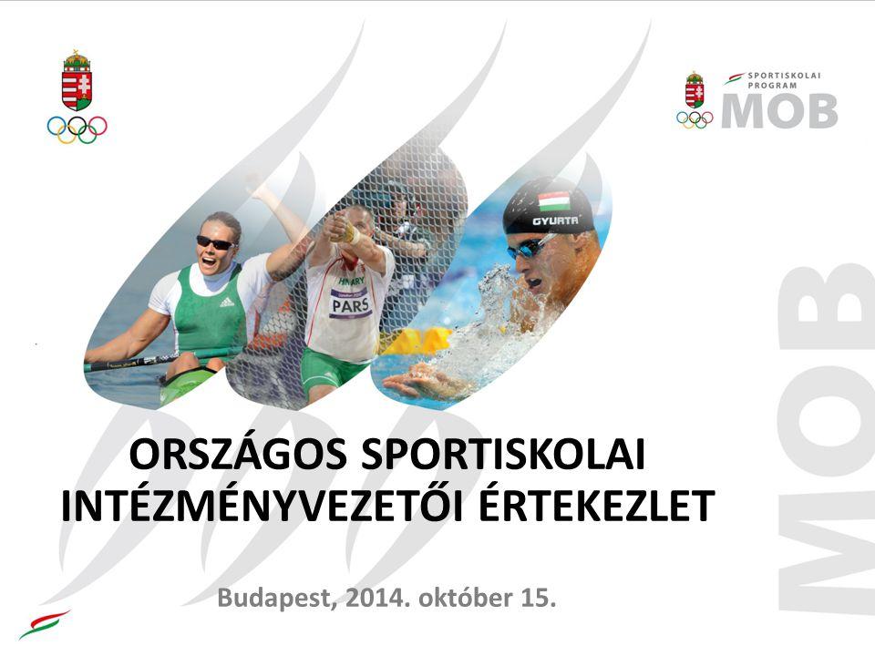 A sportiskolai állami támogatások kezelésével kapcsolatos tapasztalatok A tájékoztatót tartja: Farkas Márta sportiskolai szakmai főmunkatárs