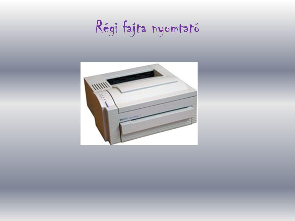 Régi fajta nyomtató