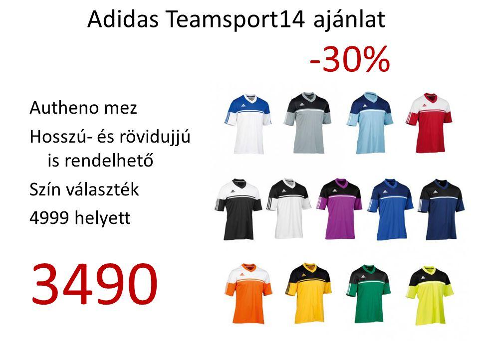 Adidas Teamsport14 ajánlat -30% Tabela 14 Idei modell Győri ETO FC 5999 helyett 4190