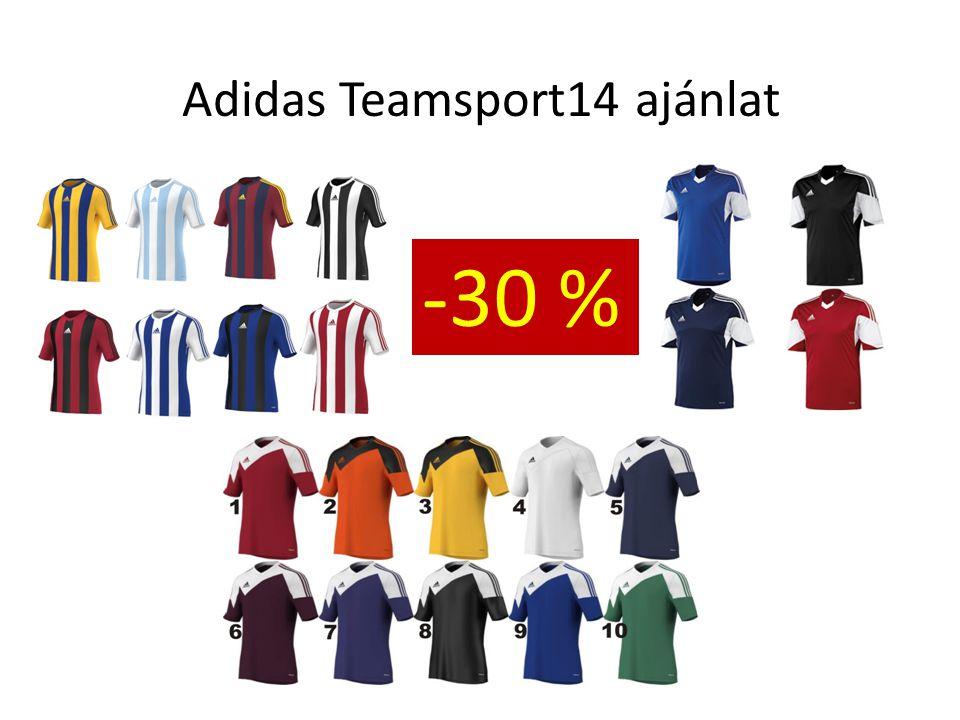 Adidas Teamsport14 ajánlat -30% Parma II nadrág 4999 helyett 3490 Squadra nadrág 5999 helyett 4190