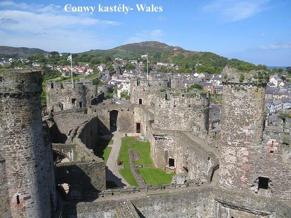 Conwy kastély- Wales