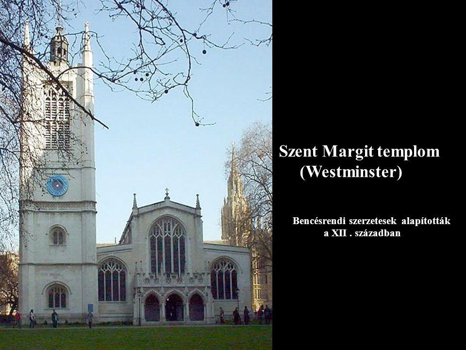 Szent Márton –Canterbury templom Anglia legrégebbi temploma temetővel