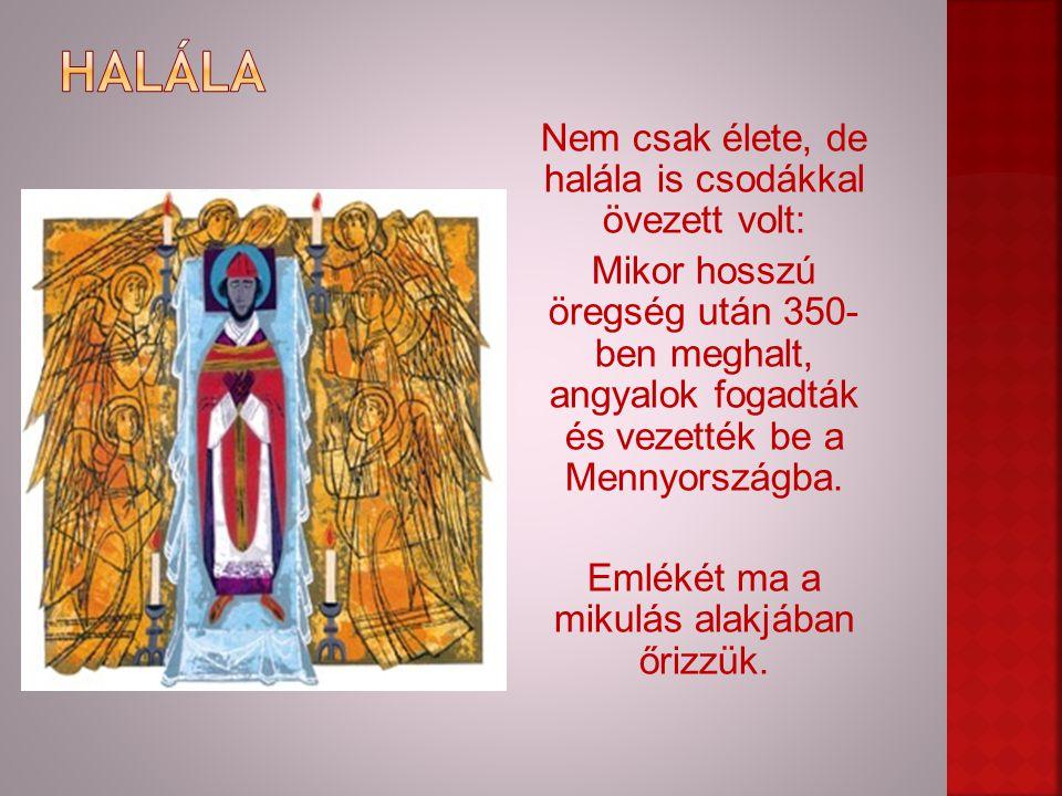 """Szent Miklós, bár világszerte ismert, alakját manapság sajnos elhomályosítja a """"lappföldi télapó figurája."""