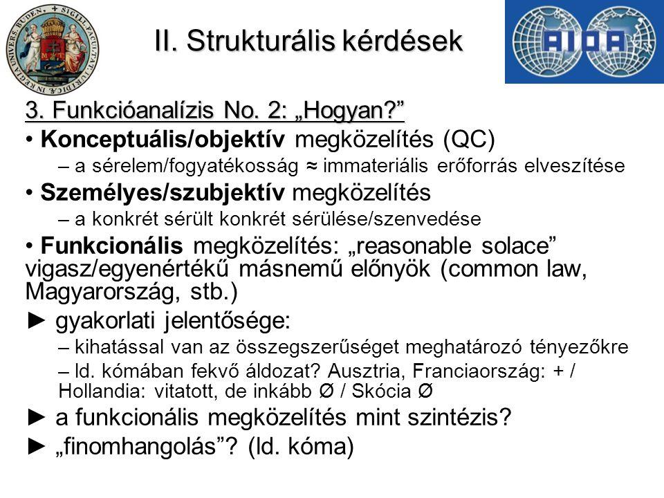 II.Strukturális kérdések 4.