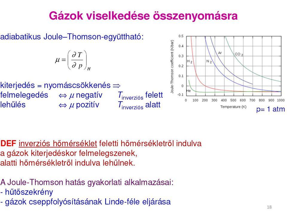 A Carnot-körfolyamat hatásfoka a két tartály hőmérséklet- különbségének és a magasabb hőmérsékletű tartály abszolút hőmérsékletének a hányadosa.