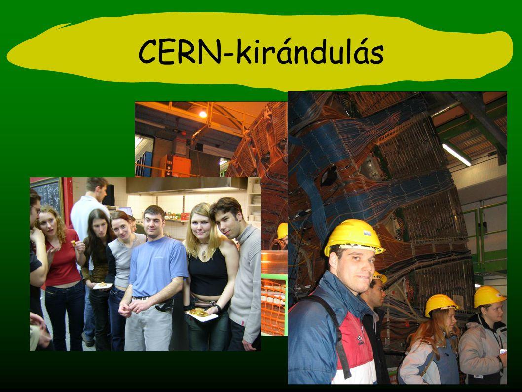CERN-kirándulás